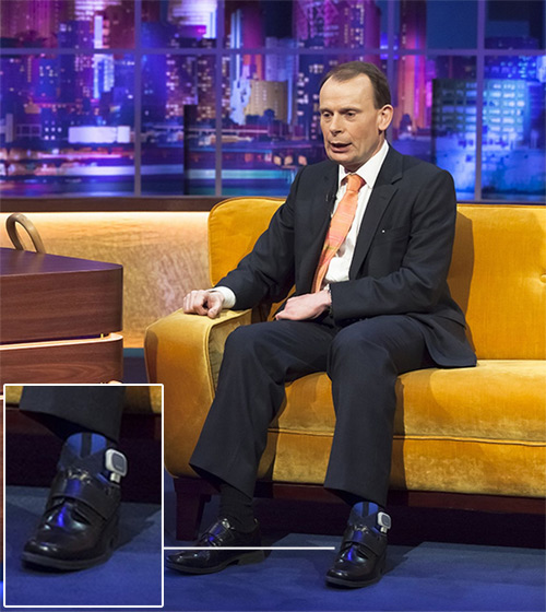 Andrew Marr on the Jonathan Ross Show