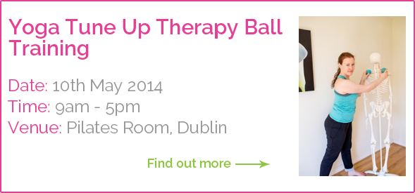 Dagmar Kahn Yoga Tune Up Therapy Ball Training