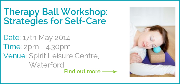Dagmar Khan Therapy Ball Workshop: Strategies for Self-Care
