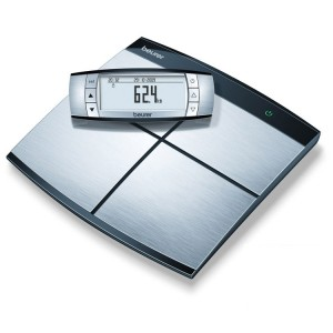 Know all your measurements and track your progress from comfortable winter to fabulous summer on the Beurer BF100 Body Analysis Scales