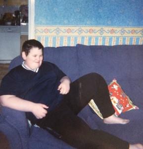 over weight teen