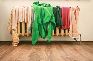 clothes-on-radiator