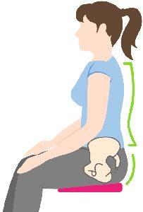 posture cushion for kegels