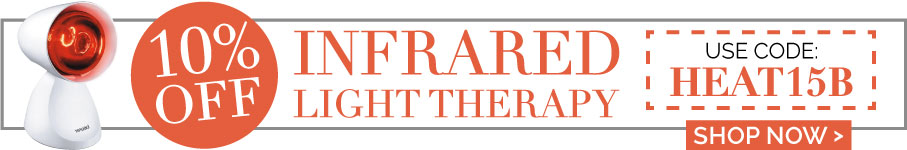10% OFF Infrared Light Therapy for a limited time only!
