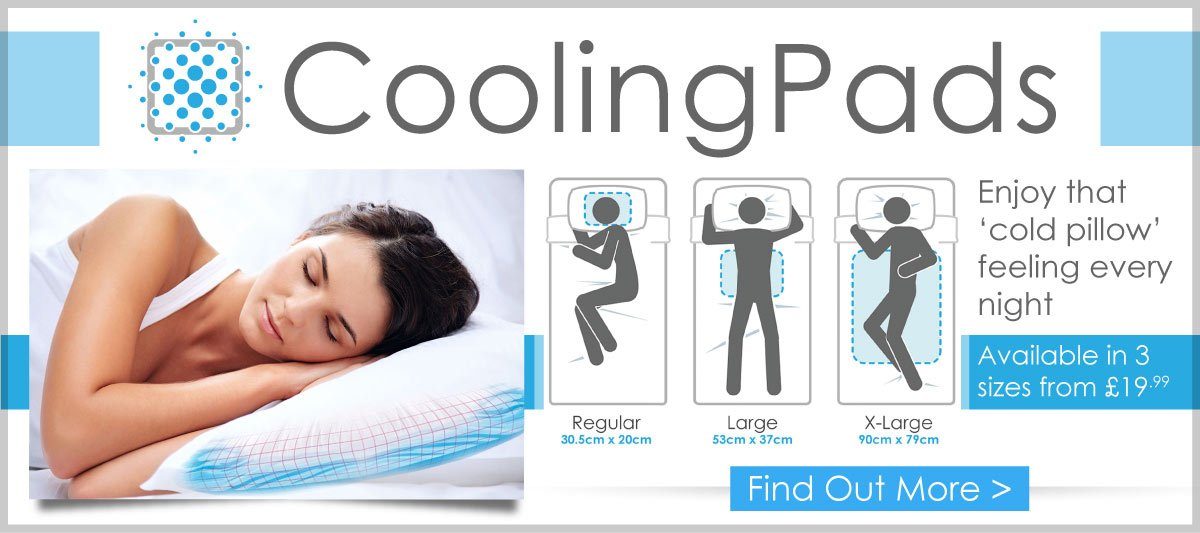 Cooling Pads at StressNoMore