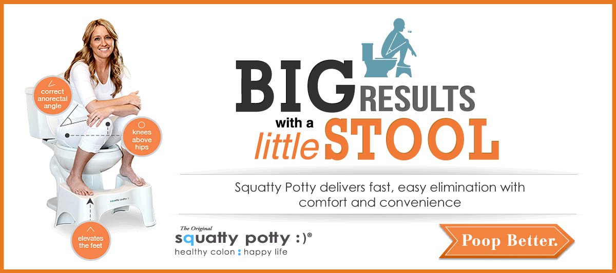 Poop Better with SquattyPotty