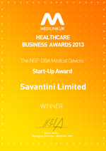 Savantini Win Medilink Award Best Start Up